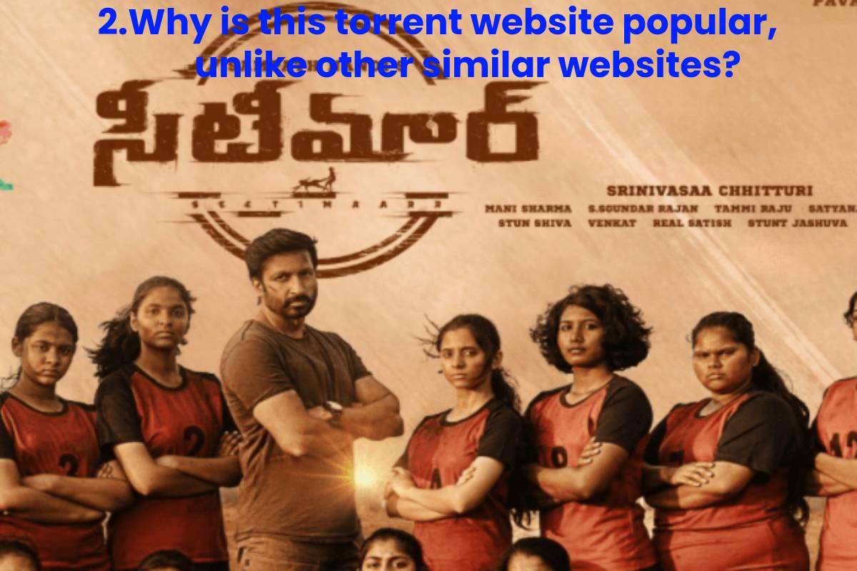 2.Why is this torrent website popular, unlike other similar websites?
