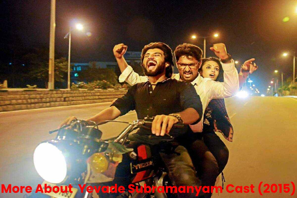 More About Yevade Subramanyam Cast(2015)