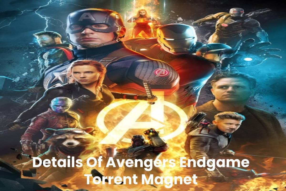 Avengers Endgame Torrent Magnet