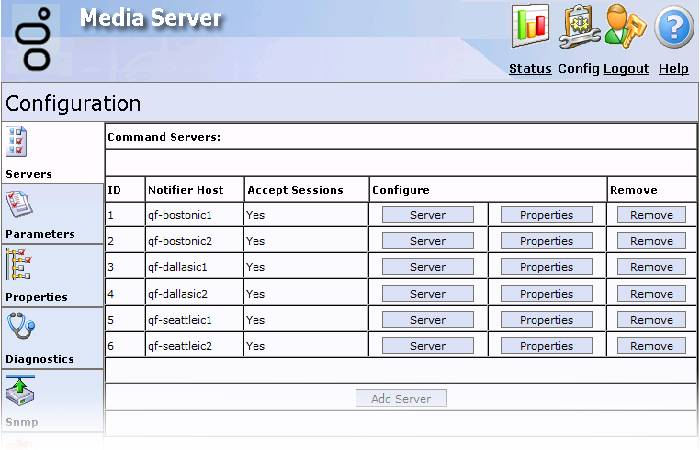modify server