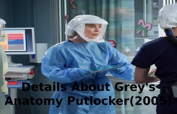 Details About Grey's Anatomy Putlocker(2005)