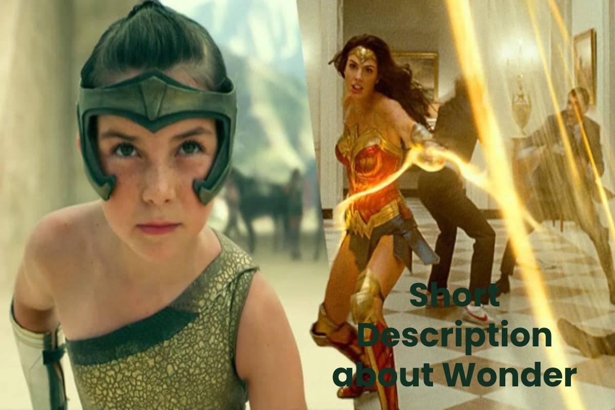 Short Description about Wonder Woman